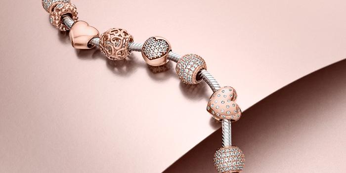 Nuova collezione pandora rose gioielleria paulon - Bracciale pandora si puo bagnare ...